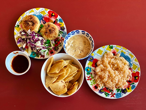 A photo of a Mexican breakfast
